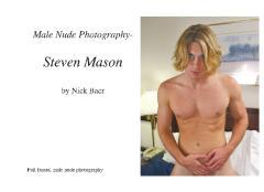 Male Nude Photography- Steven Mason
