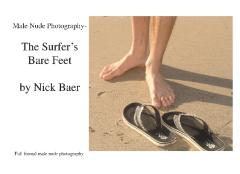 Male Nude Photography- The Surfer's Bare Feet