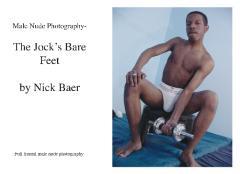 Male Nude Photography- The Jock's Bare Feet