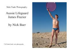 Male Nude Photography- Aussie Lifeguard James Frazier