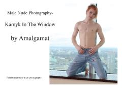 Male Nude Photography- Kamyk In The Window