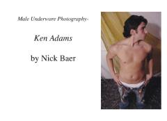 Male Underwear Photography- Ken Adams