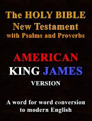 The Holy Bible New Testament with Psalms and Proverbs