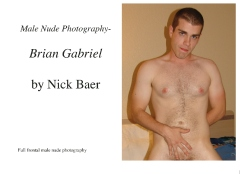 Male Nude Photography- Brian Gabriel