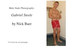 Male Nude Photography- Gabriel Steele