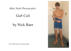 Male Nude Photography- Gab Cali