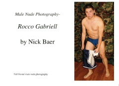 Male Nude Photography- Rocco Gabriell