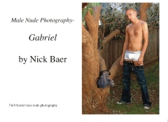 Male Nude Photography- Gabriel