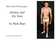 Male Nude Photography- Holden And His Tatts