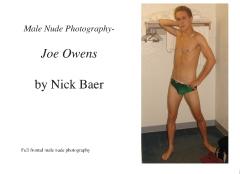 Male Nude Photography- Joe Owens