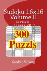Sudoku 16x16 Vol II