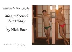 Male Nude Photography- Mason Scott & Steven Jay