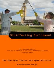 Disinfecting Parliament