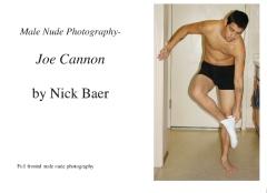 Male Nude Photography- Joe Cannon