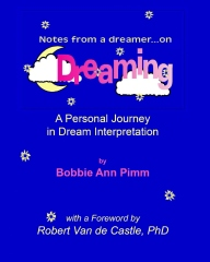 Notes From a Dreamer ... on Dreaming