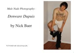 Male Nude Photography- Denware Dupuis