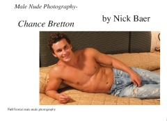 Male Nude Photography- Chance Bretton
