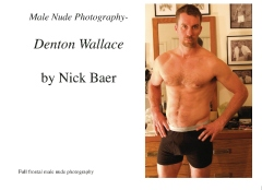 Male Nude Photography- Denton Wallace