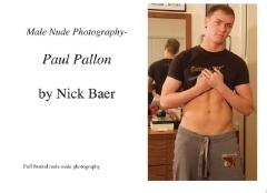 Male Nude Photography- Paul Pallon