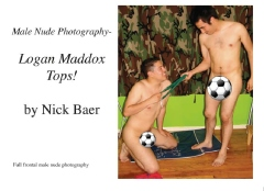 Male Nude Photography- Logan Maddox Tops!