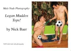 Male Nude Photography- Logan Maddox Tops!
