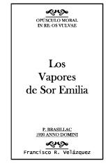 Los Vapores de Sor Emilia: