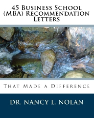 45 Business School (MBA) Recommendation Letters