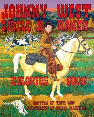 Circle X Ranch Johnny West Coloring Book