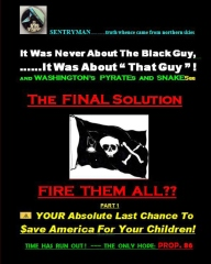 "It Was Never About The Black Guy, It Was About ""That Guy""! And Washington's Pyrates and Snakesss. The Final Solution - FIRE THEM ALL??"