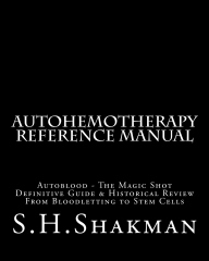 Autohemotherapy Reference Manual