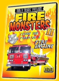 totally trucks / FIRE MONSTERS 2