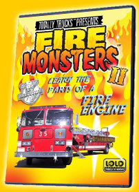 totally trucks / FIRE MONSTERS 2