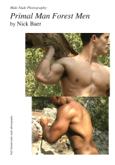 Male Nude Photography- Primal Man Forest Men
