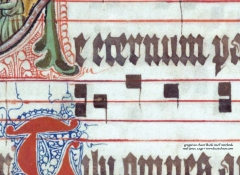 Gregorian Chant Blank Staff Notebook