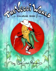 The Veggi World Coloring Book