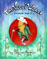 The Veggi World Coloring Book