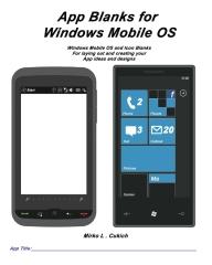 App Blanks for Windows Mobile OS