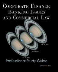 Corporate Finance, Banking Issues and Commercial Law