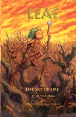 Leaf and the Sky of Fire