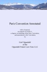 Paris Convention Annotated