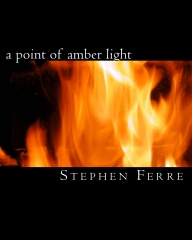 a point of amber light