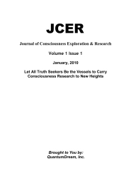 Journal of Consciousness Exploration & Research Volume 1 Issue 1