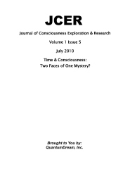 Journal of Consciousness Exploration & Research Volume 1 Issue 5