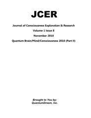 Journal of Consciousness Exploration & Research Volume 1 Issue 8