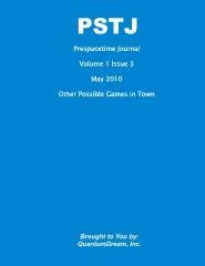 Prespacetime Journal Volume   1 Issue 3