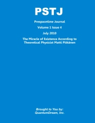 Prespacetime Journal Volume 1 Issue 4