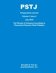 Prespacetime Journal Volume 1 Issue 4