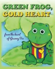 Green Frog, Gold Heart
