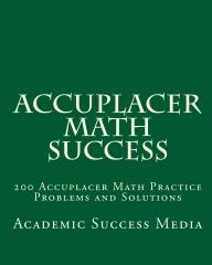 Accuplacer Math Success