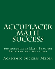 Accuplacer Math Success